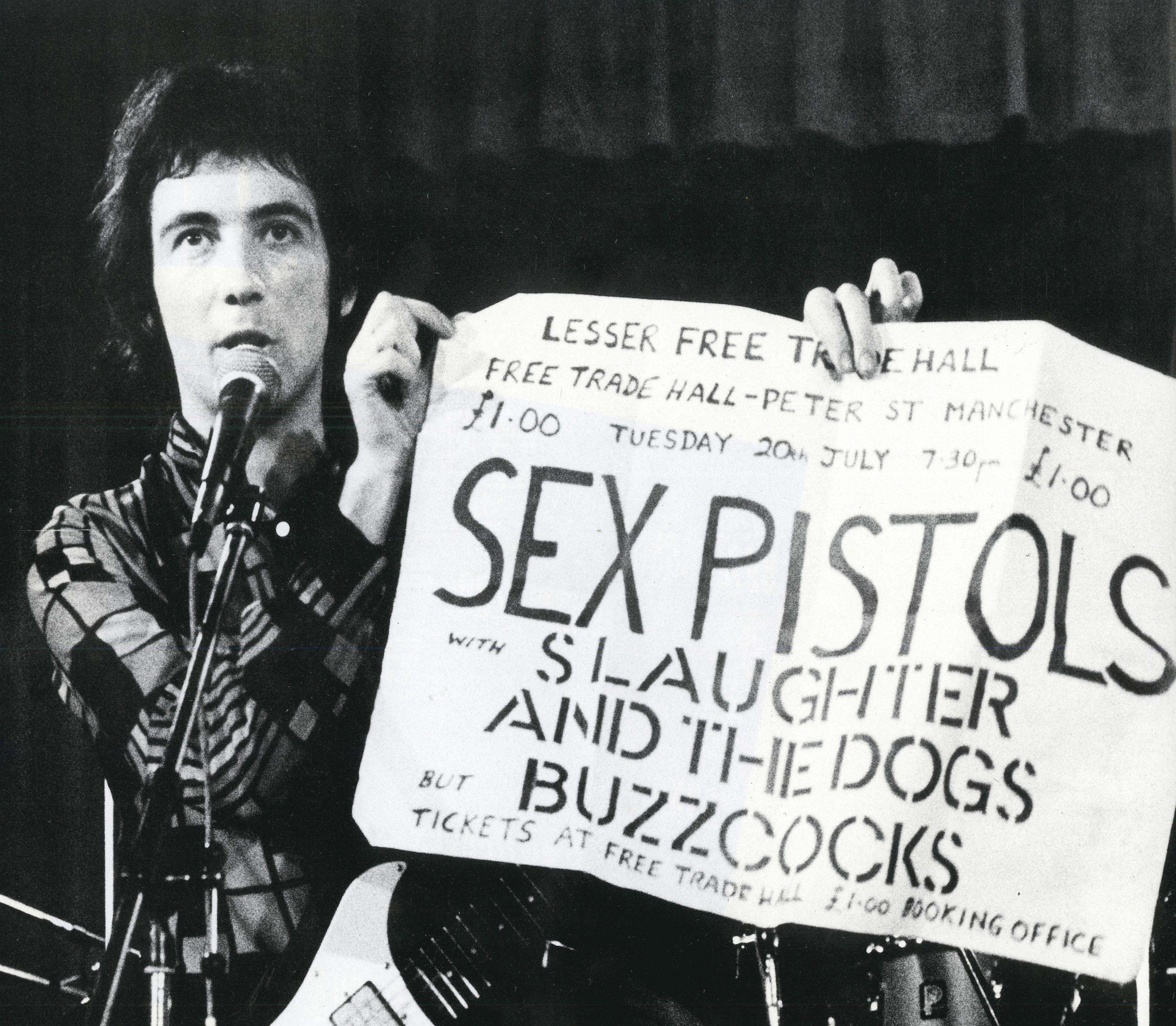 Photo: Pete Shelley by Kevin Cummins
